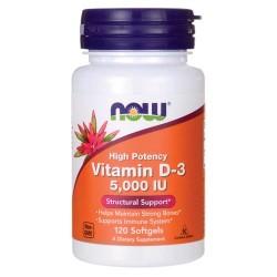 Now Vitamina D3 5000mg 120...