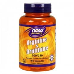 Now Arginine & Ornithine...