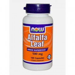 Now Alfalfa Leaf 500mg 100...