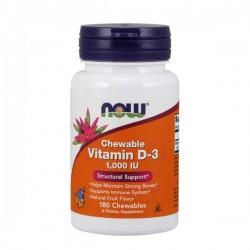 Now Vitamin D-3 1000iu 180...
