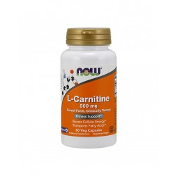 Now L-Carnitine 500mg 60...