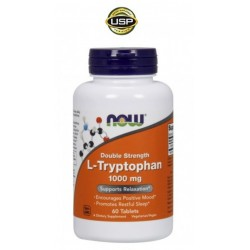 Now L-Tryptophan 1000mg 60...
