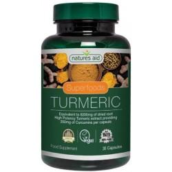 Natures Aid - Turmeric 200...