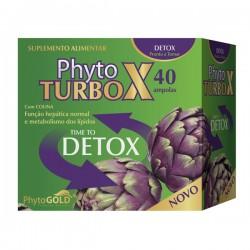 Phyto TURBO X DETOX 40 ampolas