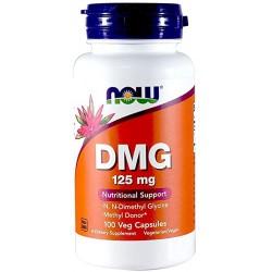 Now DMG 125mg 100 cápsulas