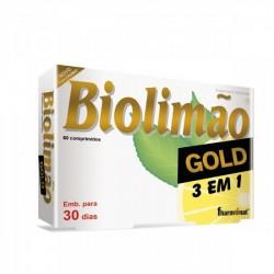BIOLIMÃO GOLD 3 EM 1 60 Comp.